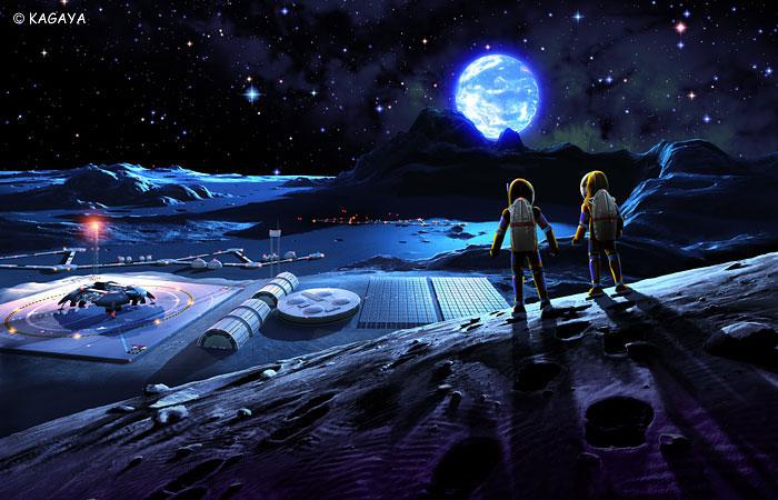 Освоение спутника Луна