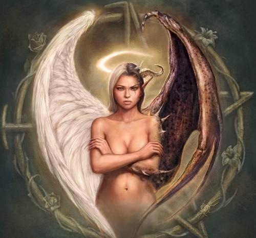 Крылья ангела и экзарха