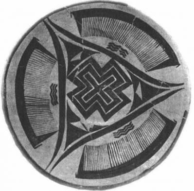 Изображение на керамическом предмете 3200 г до н.э., Шумер, раскопки в Сузах.