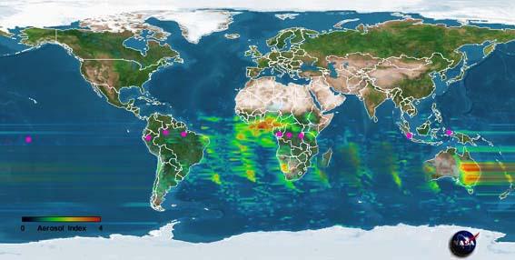 Метеостанции на экваторе
