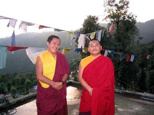 Буддисткие монахи