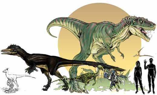Группа целурозавров