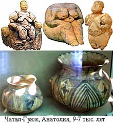 Чатал-Гуюк, Анатолия, 9-7 тыс. лет назад