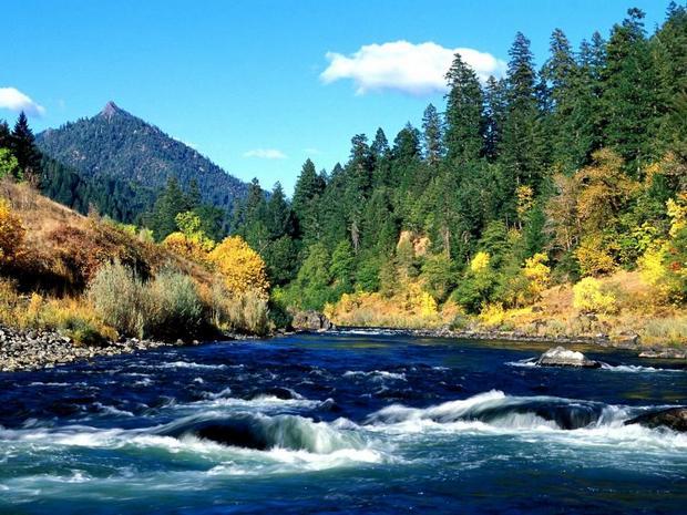 Река Рогуе, Орегон