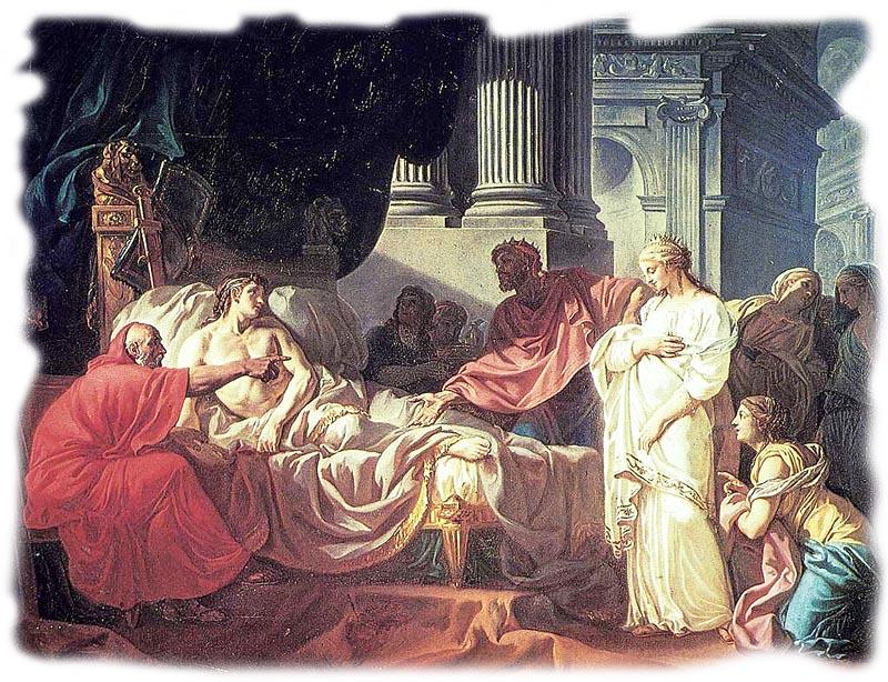 Древнегреческий врач Erasistratus