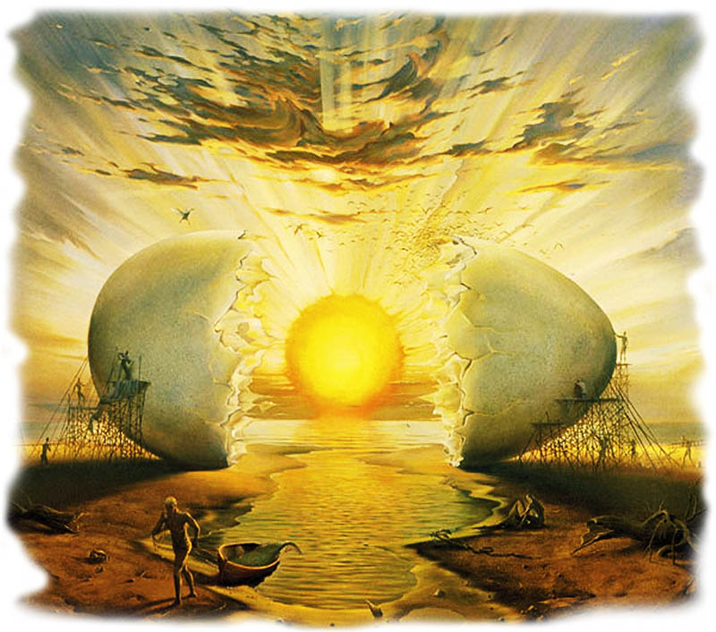 Восход Солнца в Океане. Владимир Куш