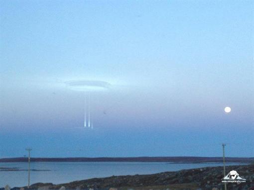 НЛО над Арктикой