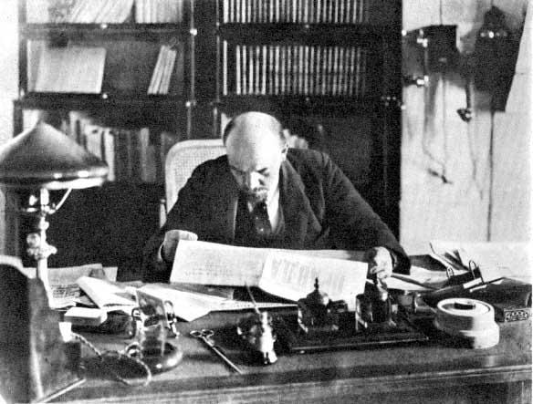 Ленин, 1918