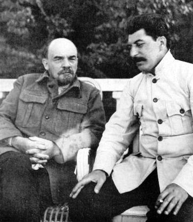 Ленин и Сталин, 1922 г.