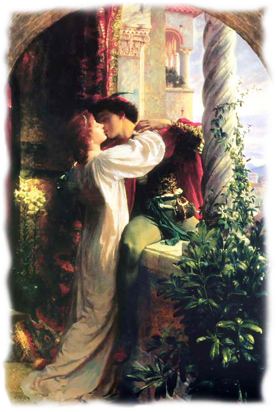 Любовь Ромео и Джульетта